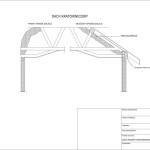 Dach skosny kratownicowy 4